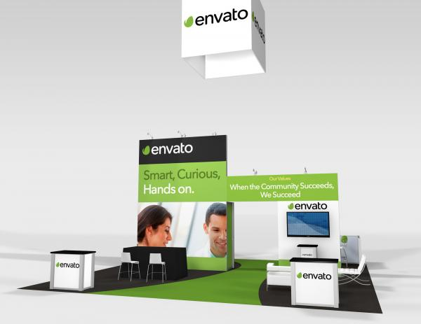 RE-9075 Envato Trade Show Rental Exhibit -- Image 3