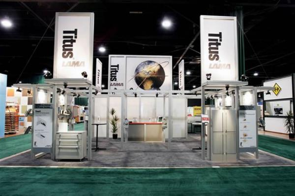 RE-9044 Rental Exhibit / 30� x 40� Island Trade Show Display � Image 1