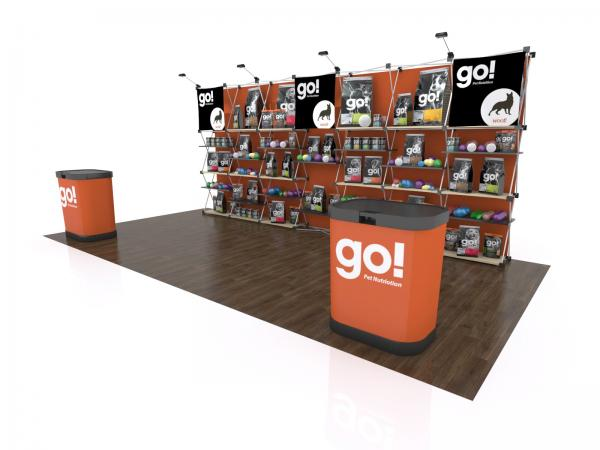 FG-205 Trade Show Pop Up Display -- Version 2c
