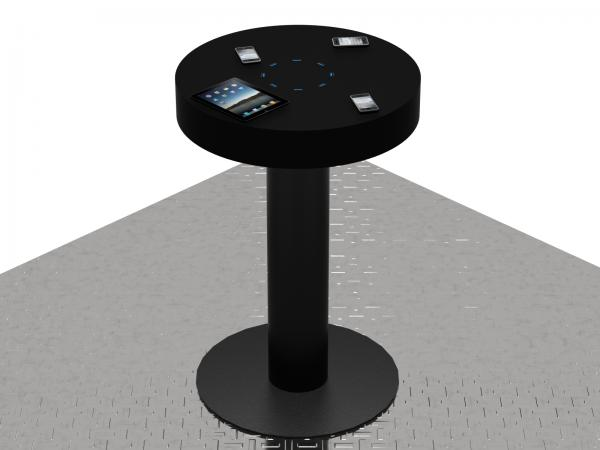 MOD-1411 Trade Show Charging Station in Optional Black