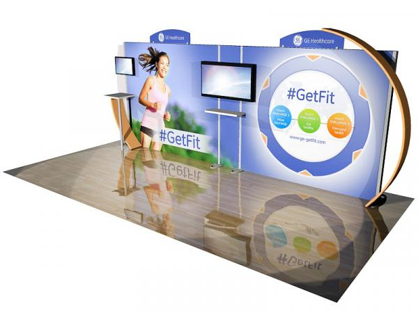 ECO-2072 Sustainable Tradeshow Display