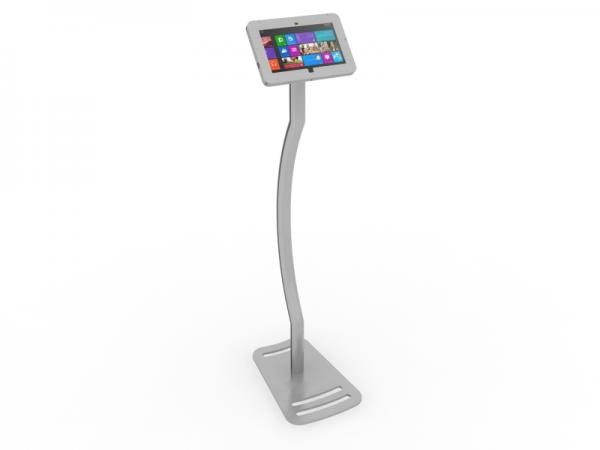 MOD-1339M Portable Surface 2 Kiosk -- Silver