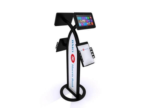MOD-1355M Portable Surface 2 Kiosk -- Black