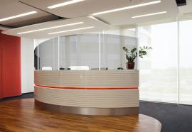 Safety Dividers for Hotel Reception Desks
