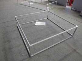 Two Aero Frames:  5 ft. x 5 ft. x 16 in. and 5 ft. x 10 ft. x 16 in.