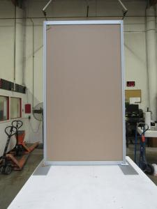 "40"" W x 72"" H Safety Divider with Clear Acrylic Insert and Packaging"