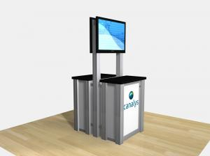 REG-1256 / Double-Sided Counter Kiosk